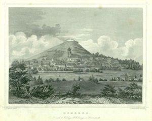 Homberg um 1850