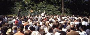 Missionsfest ind Falkenberg